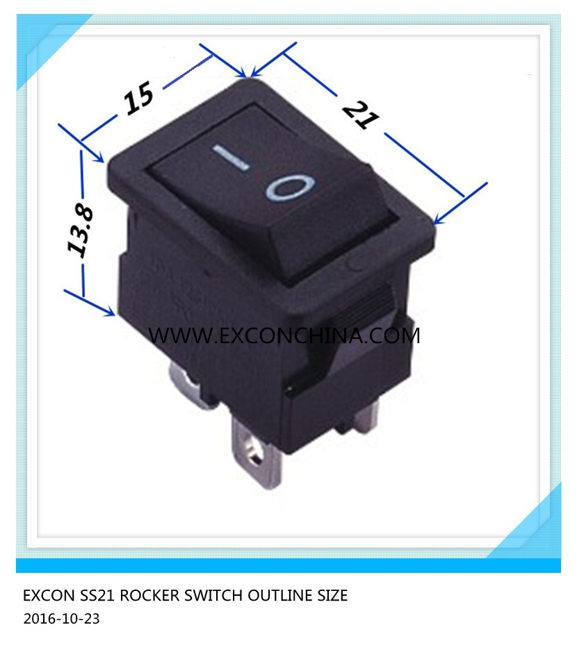 Rocker Switch Ss21 Series Copier Switch