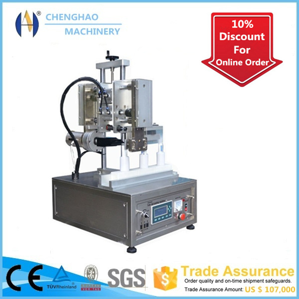 2016 Cheng Hao Selling Brand, Manual Ultrasonic Toothpaste Hose Sealing Machine