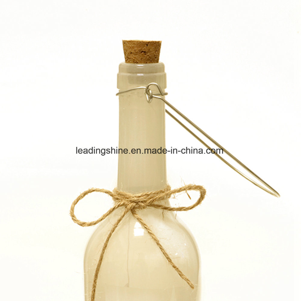 Leaf Starlight Wine Bottle LED Light Christmas Home out Door Decoration Gift