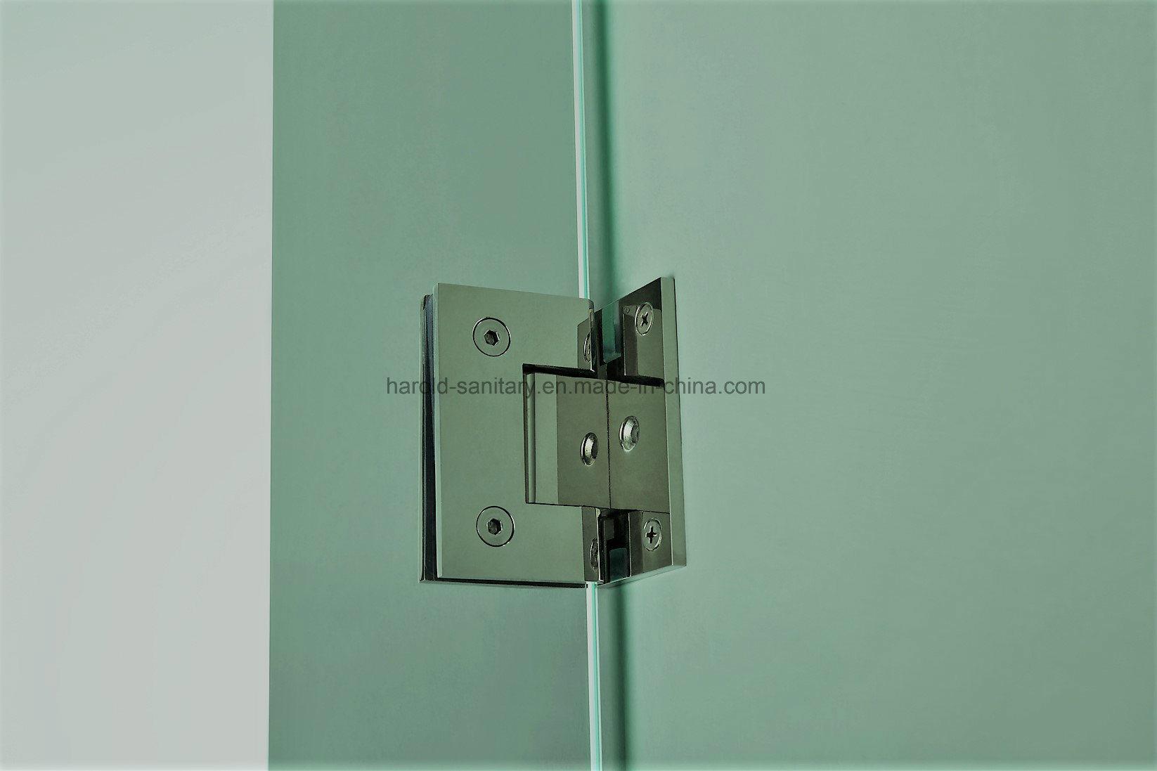 Na-08 Semi-Framed Hinge Open Shower Door