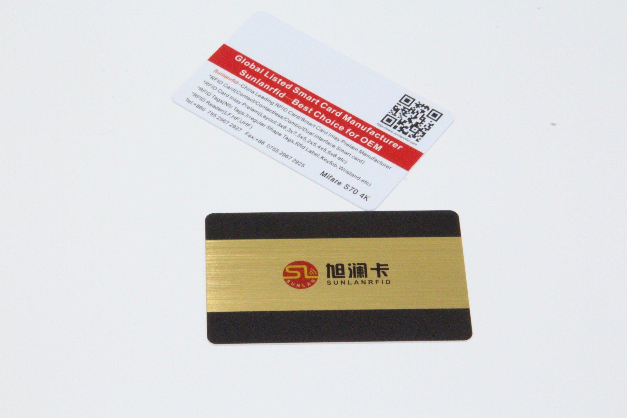 RFID 125kHz Proximity Smart Card / NFC Magnetic Strip Hotel Key Card / PVC Contact IC Card