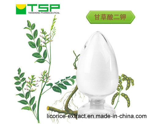 GMP Factory Supply Anti-Aging 95% Licorice Root Extract Dipotassium Glycyrrhizinate