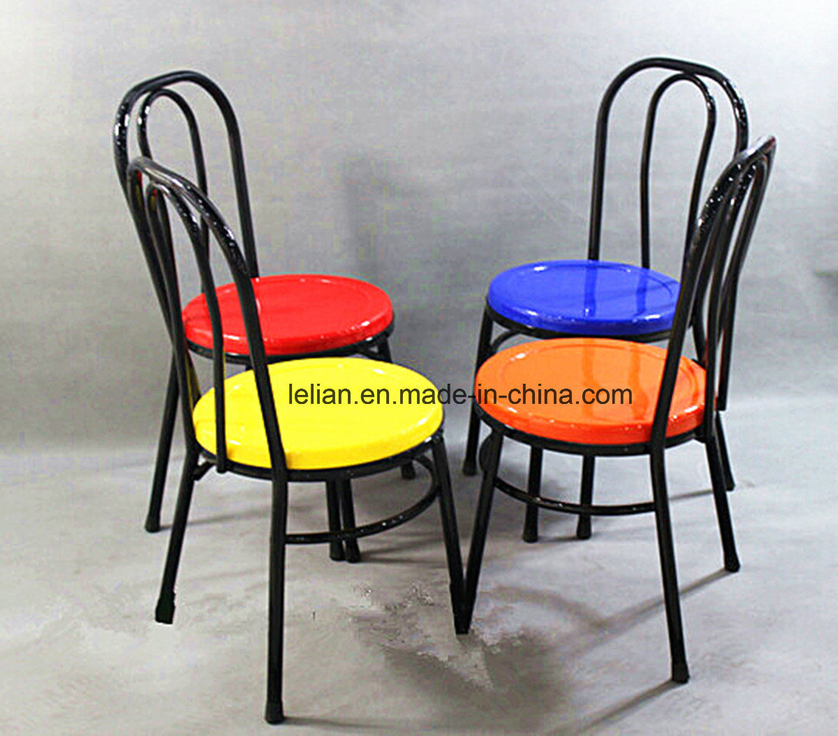 Heavy Duty Restaurant Fiber Glass Dining Chair, Dining Stool (LL-0025)