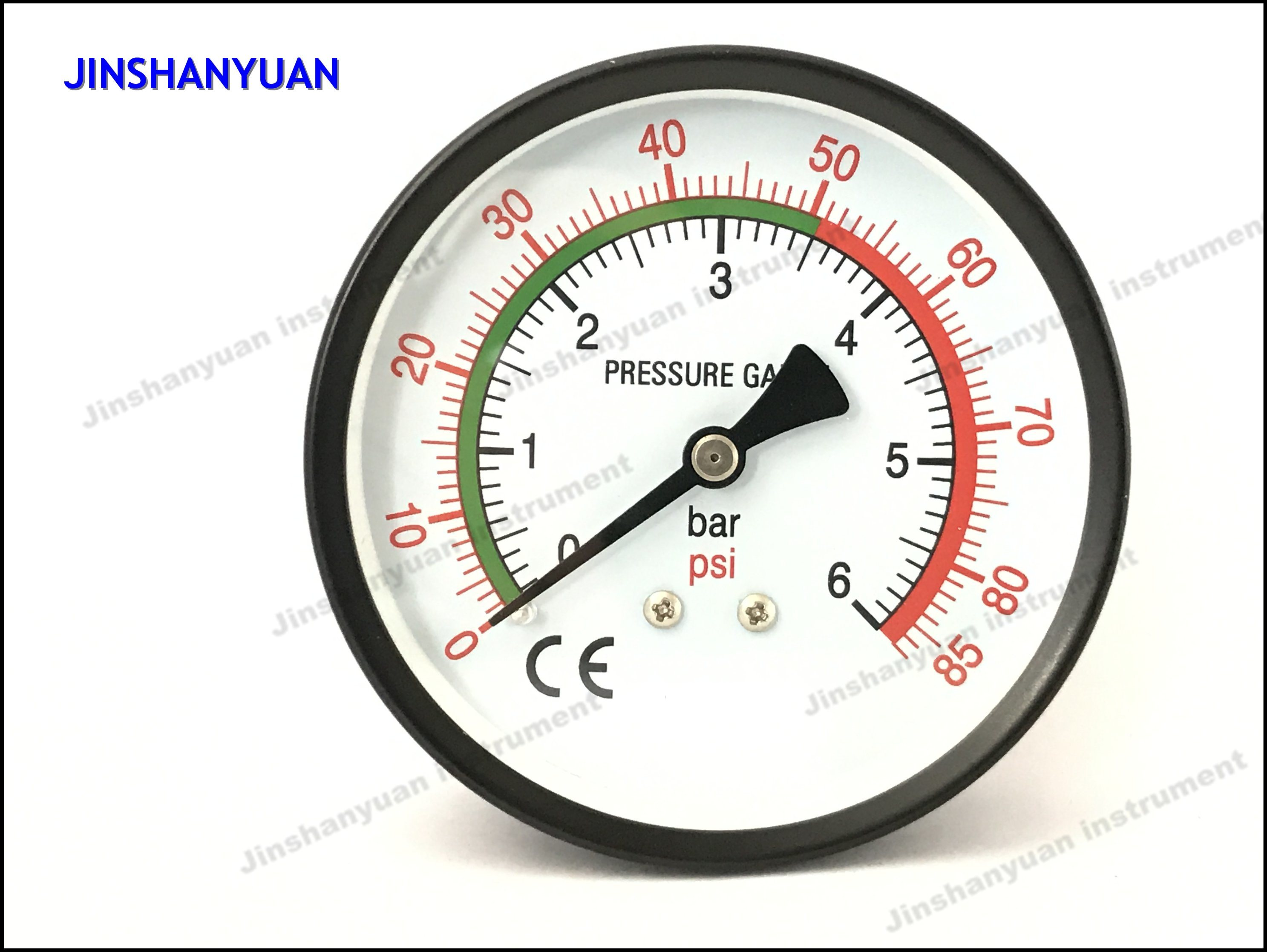 Gpg-016 Axial Mounted Dry Pressure Gauge/Bourdon Tube Manometer