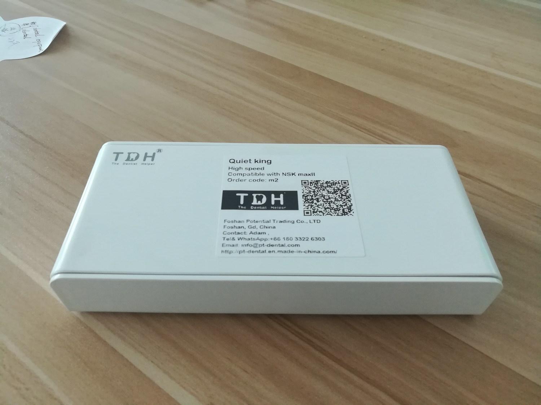 Max3 Compatible 6 Way Cooling Fast Coupling LED Dental Handpiece (tdh-TD6-C)
