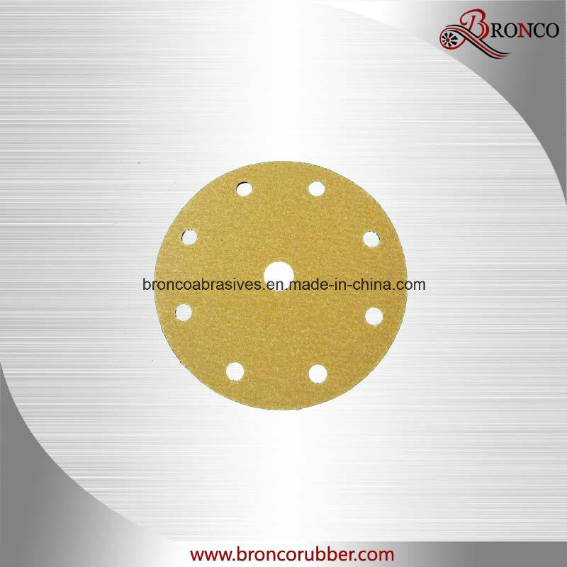 Gold Hook & Loop Disc
