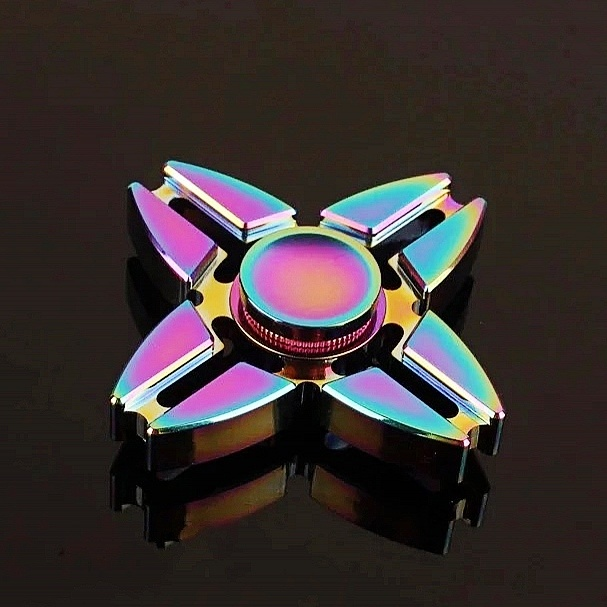 Colorful Fidget Spinner Toy, Fingertip Gyro Anti Stress Toys