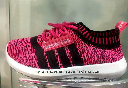 Latest Design Children Fashion Sport Shoes Injection Shoes (FF1029-2)