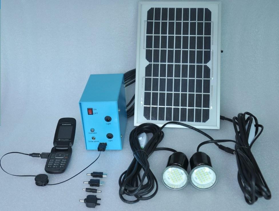 Solar Home: Solar Home Lighting Kit