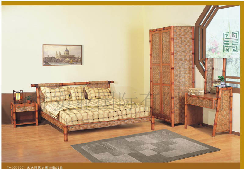 China Rattan Furniture Bedroom Set Tw China Furniture Rattan