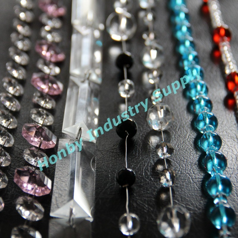2013 New Design Colourful Crystal Bead Chains (S30424C)