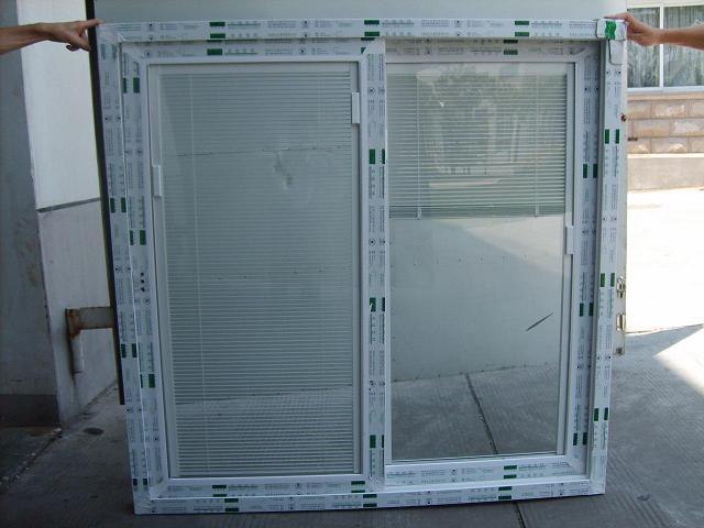 Vinyl Windows With Blinds Inside : Vinyl window with blind inside china pvc