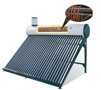 2014 Hot Sale Pre-Heated Solar Water Heater System with Copper Coil
