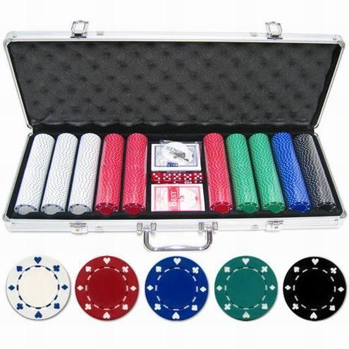500 poker chips set