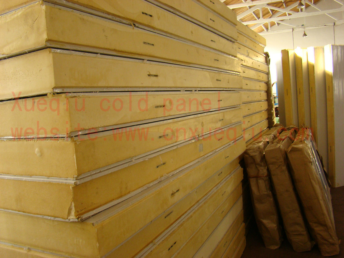 Polyurethane Sandwich Panel : China polyurethane pu sandwich panel frozen room