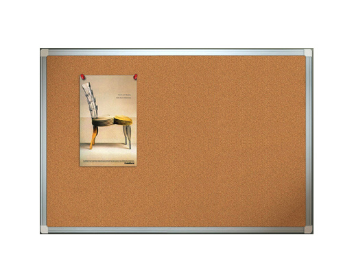 Aluminum Notice Boards with Corkboard