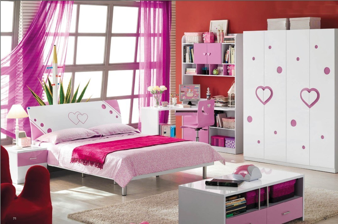 China Modern Kids Bedroom Set (BYD-CF-826) - China Kids Furniture ...