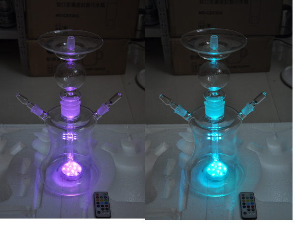 Wholesale LED Shisha, 50cm Glass Shisha
