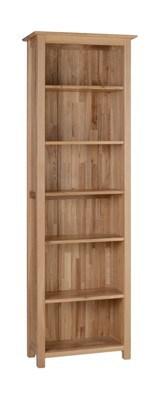 furniture en bois solid oak 6ft narrow bookcase nk45 furniture en bois solid oak 6ft narrow. Black Bedroom Furniture Sets. Home Design Ideas