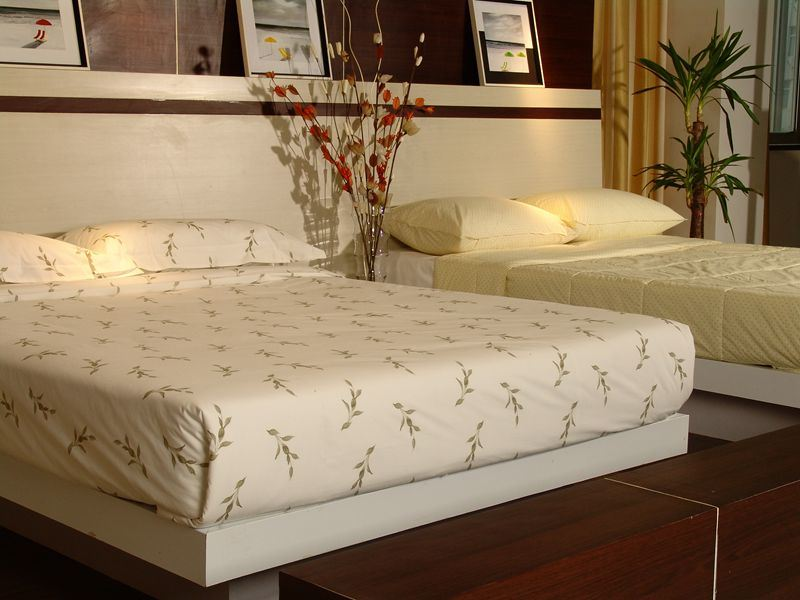 Hotel Bedding, Fitted Mattress Pad (SDF-B031)