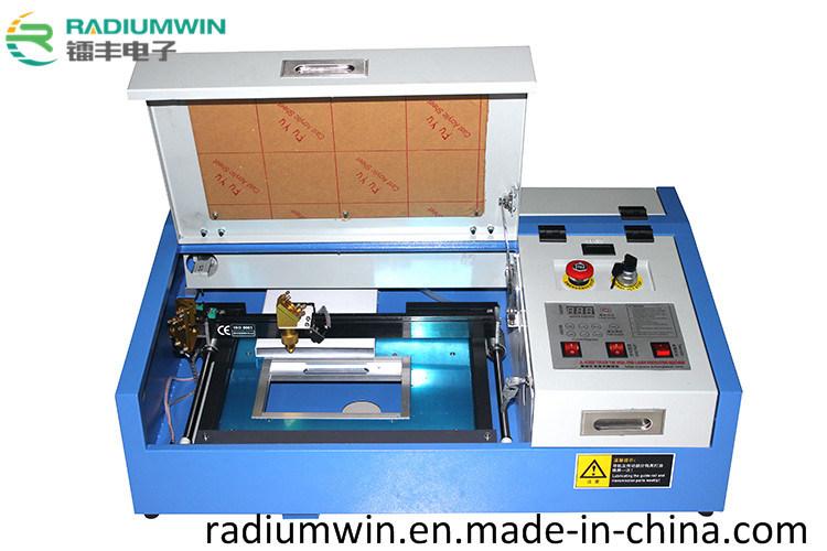 3020 Stamp Laser Engraving Machine/CNC Small Size Rubber Stamp Laser Engraver