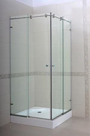 China Frameless Sliding Shower Door CG T11 China Shower Door Frameless