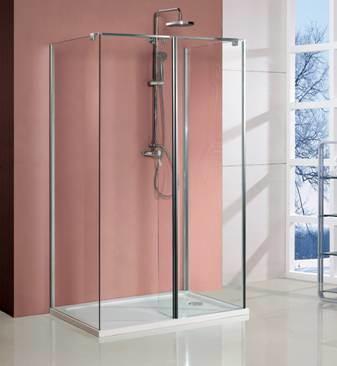 Double Side Easy Clean Nano Coating Walk in Shower Room