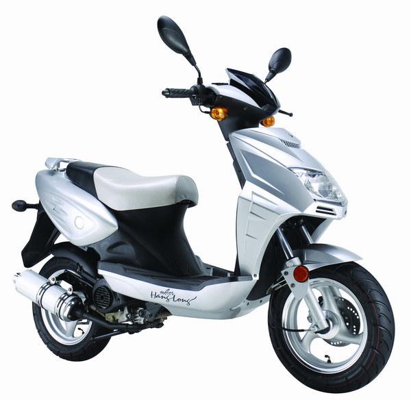 2 stroke scooter  dike b11