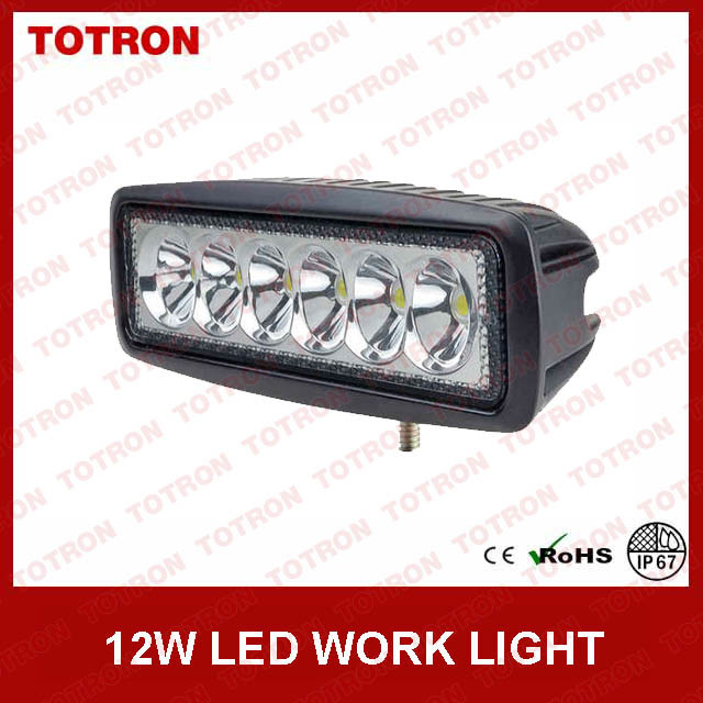 Totron 1218 18W LED Work Light for Side by Side Vehicles