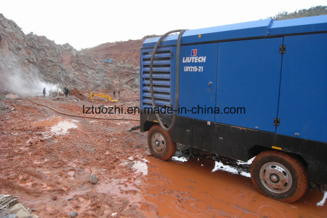 Atlas Copco-Liutech 769cfm 21bar Drill Rig Diesel Air Compressor