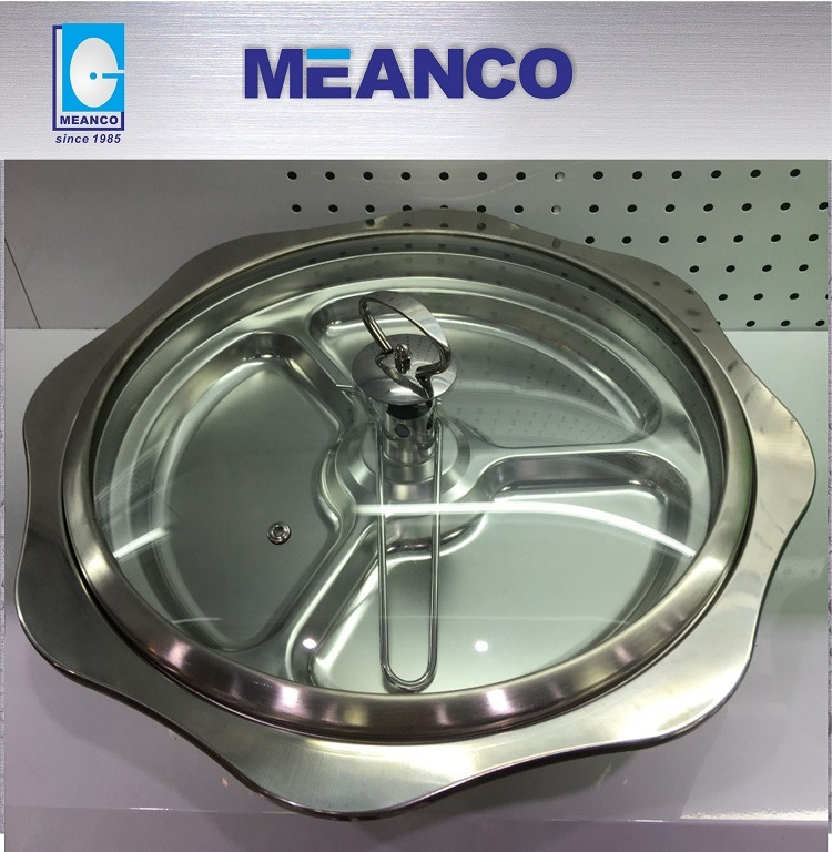 Tempered Glass Lid, Wide Ring