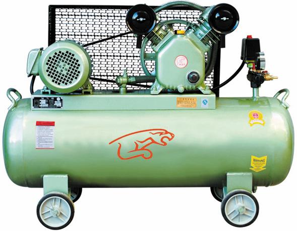 Belt-Driven Air Compressor (V-0.12/8)
