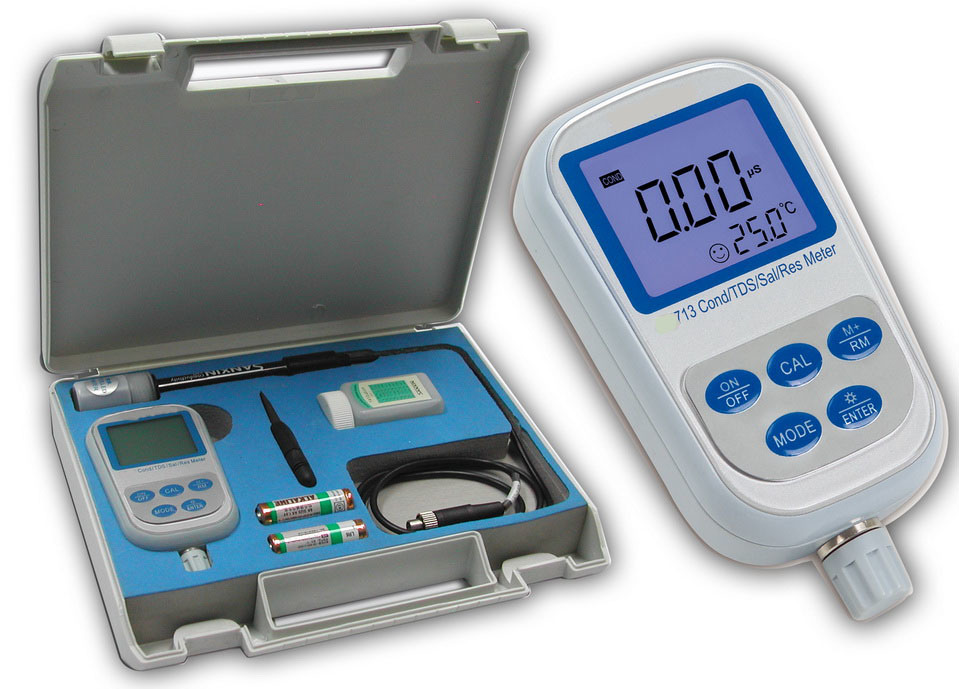 Digital Precision Conductivity Resistivity Meter