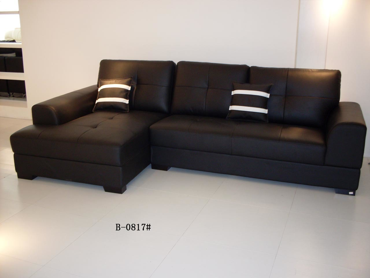 China sofa furniture leather sofa b 0817 china sofa for Leather furniture