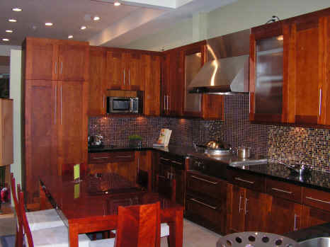 Kitchen Cabinets Showroom Cherry