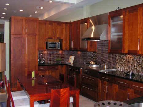 Kitchen Cabinets Showroom Cherry