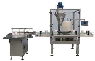 Automatic Can Feeding, powder Filling And Packaging Machine (XFF-G)