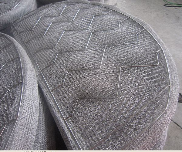 Knitting With Metal Wire : China stainless steel knitting demister wire mesh pad