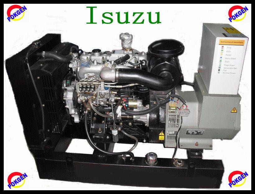 20kVA Super Silent Diesel Generator Set Powered by Isuzu Engine