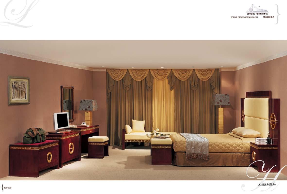 Habitaci n de dormitorio del hotel lh325 habitaci n de for Chambre a coucher hotel