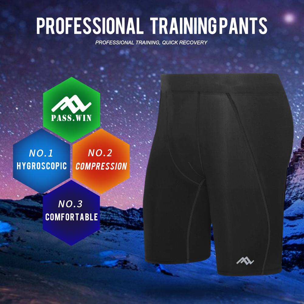 Popular Gent Sport Shorts Men Tight Compression Wear for Sport
