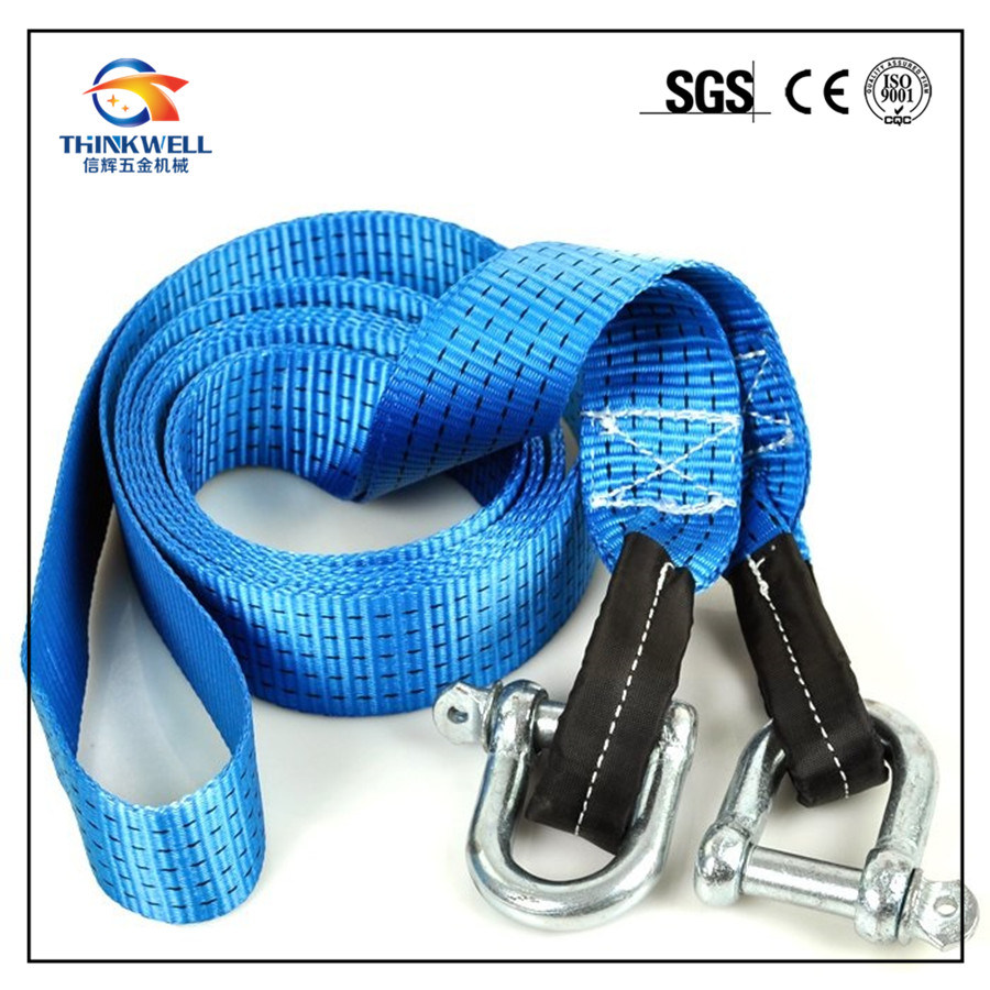 Blue Strap with Shackle Safety Strap
