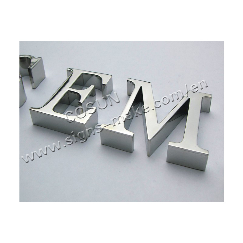 China stainless steel letter 03 china sign for Stainless steel letters buy online