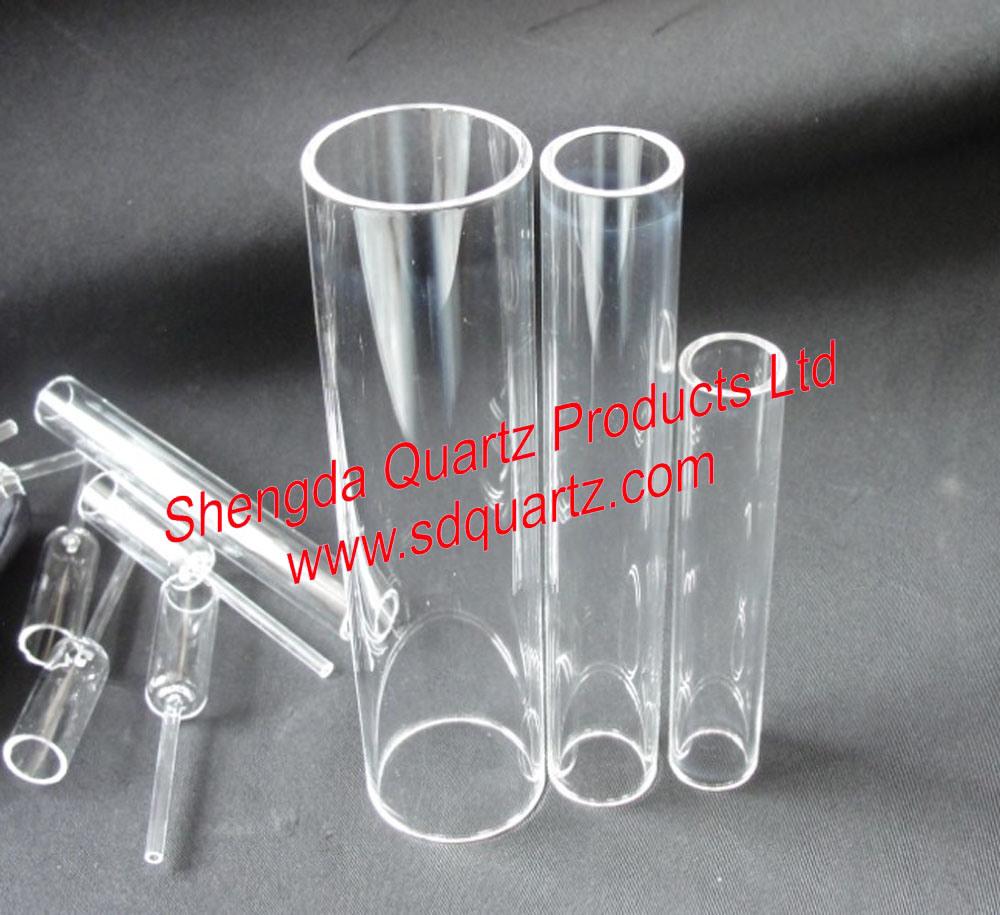 China Clear Glass Tube China Glass Tube Quartz Tube