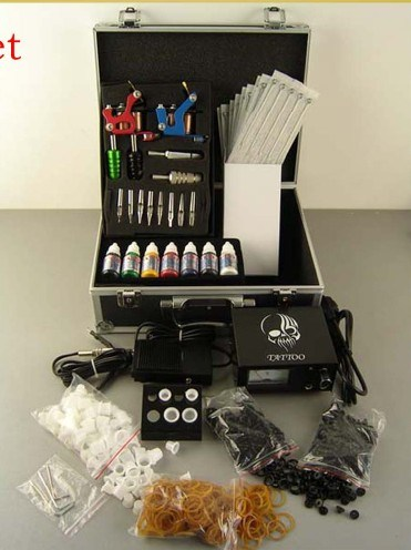 Tattoos that is. Professional Tattoo Kit.