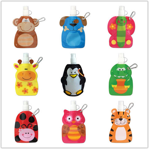 Animal Shape Foldable Water Bottle
