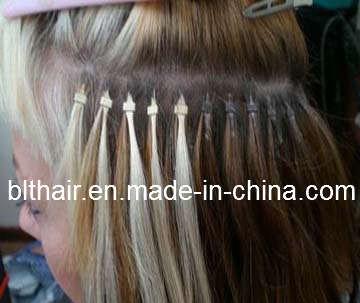 Micro Loops On Short Hair 19