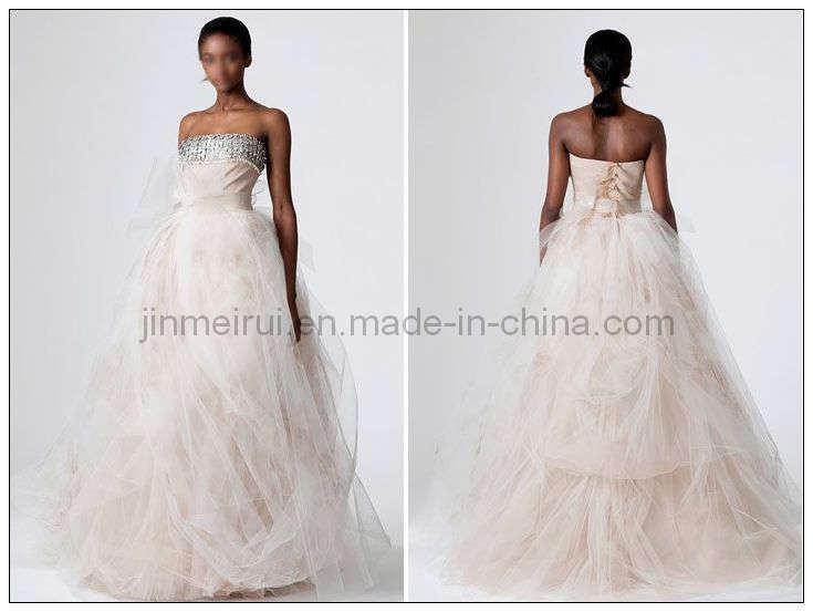 2011 Tulle Wedding Dress JM1051