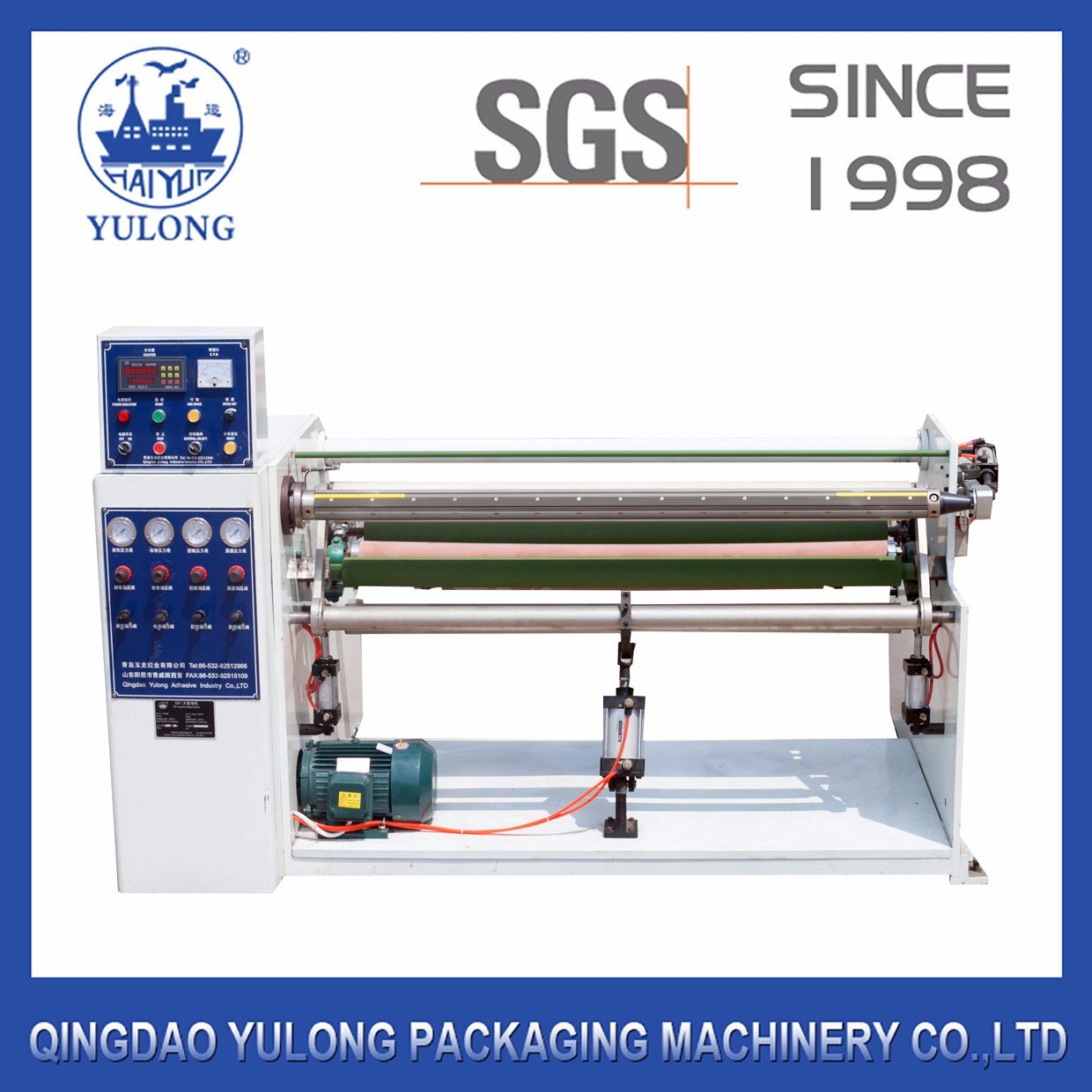 Yl-102A Single Shaft Tape Rewinding Machine