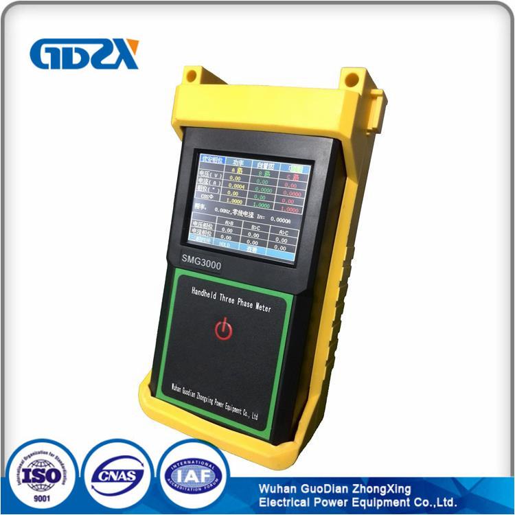 Handheld Phase Volt-Ampere Meter Power Factor VAF Meter Three Phase Meter